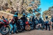 Keseruan Para Bikers CBR Riders Jakarta Saat Kunjungi   Wisata Kopi Di Akhir Pekannya.