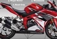 Bikin Gahar Tampilan Honda CBR250RR, Cukup Ganti ini