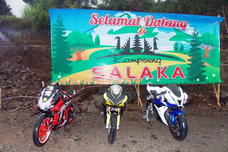 CBR Bogor Riders Rayakan HUT ke-6 Ajak Bikers Nikmati Kampoeng Salaka
