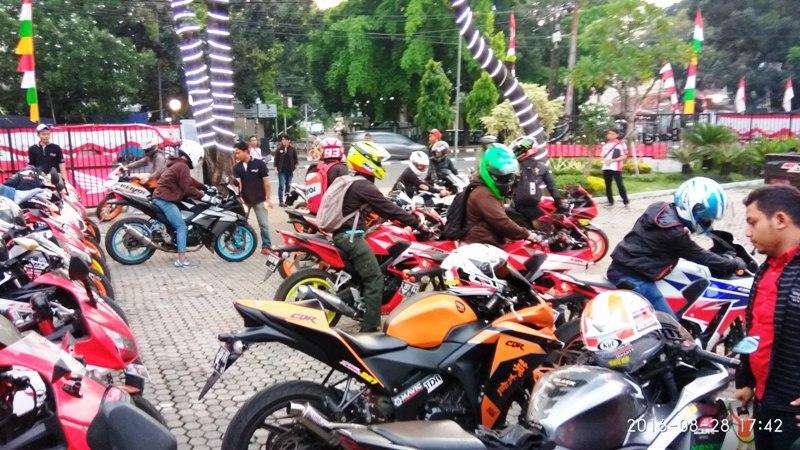 Komunitas Honda Cbr Jakarta Dan Tangerang Ramaikan Cbr Community