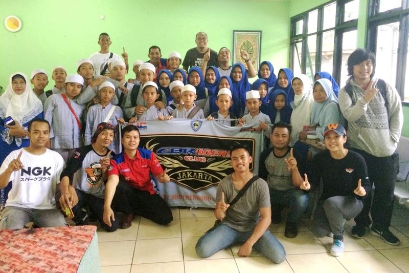 Baksos CBR Riders Jakarta Lanjutkan Rangkaian Perayaan Ulang Tahunnya