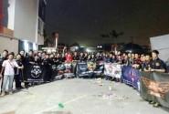 300 Biker Penunggang Honda CBR Ramaikan Halal Bihalal di Bekasi