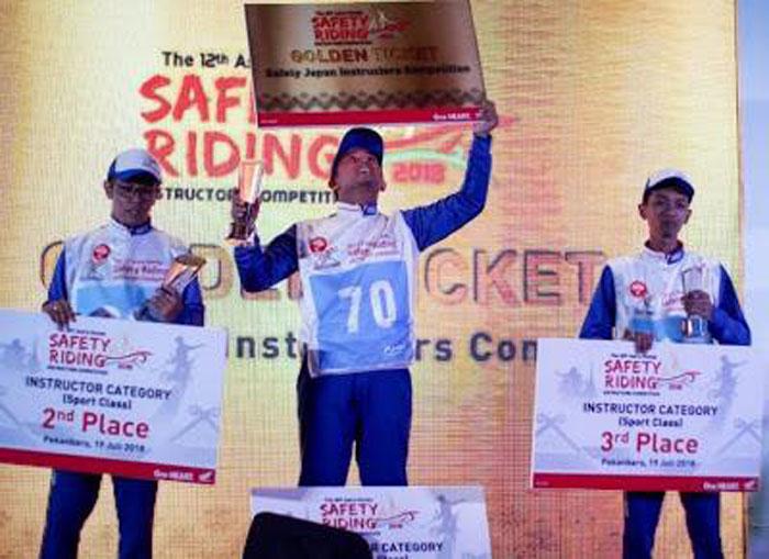 Sofyan Hazri, Instruktur Safety Riding Honda Medan Penyabet Juara Nasional
