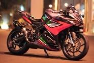 Inspirasi Dua Modifikasi Honda CBR 250RR Cutting Sticker