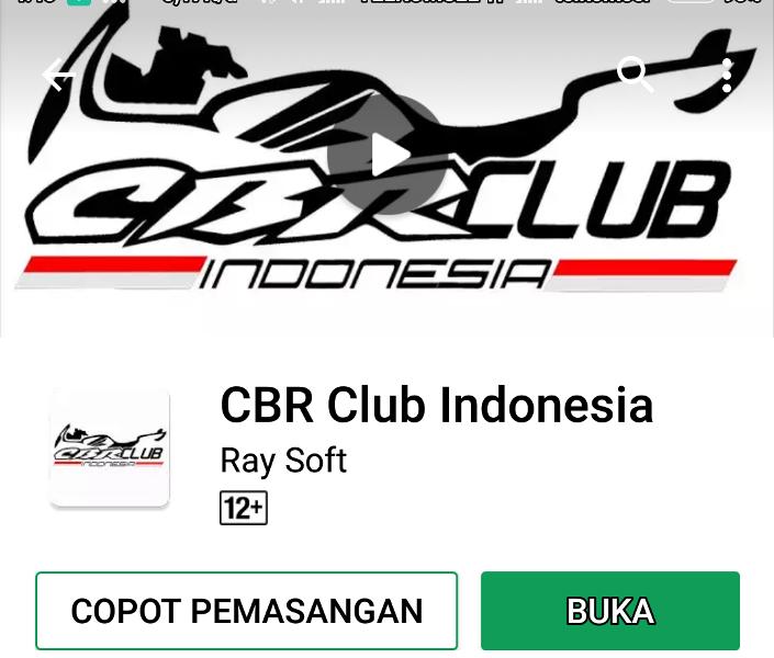 CBR Club Indonesia (CCI) Launching Aplikasi Mobile Khusus Miliknya