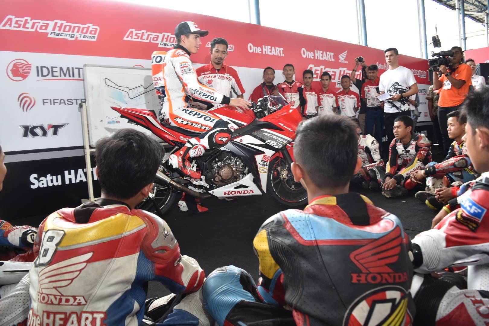 Marquez Kagum Dengan All New Honda CBR250RR